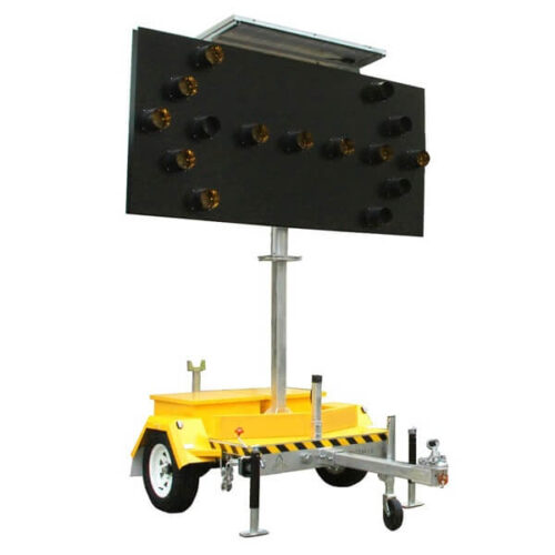 portable arrow board hire