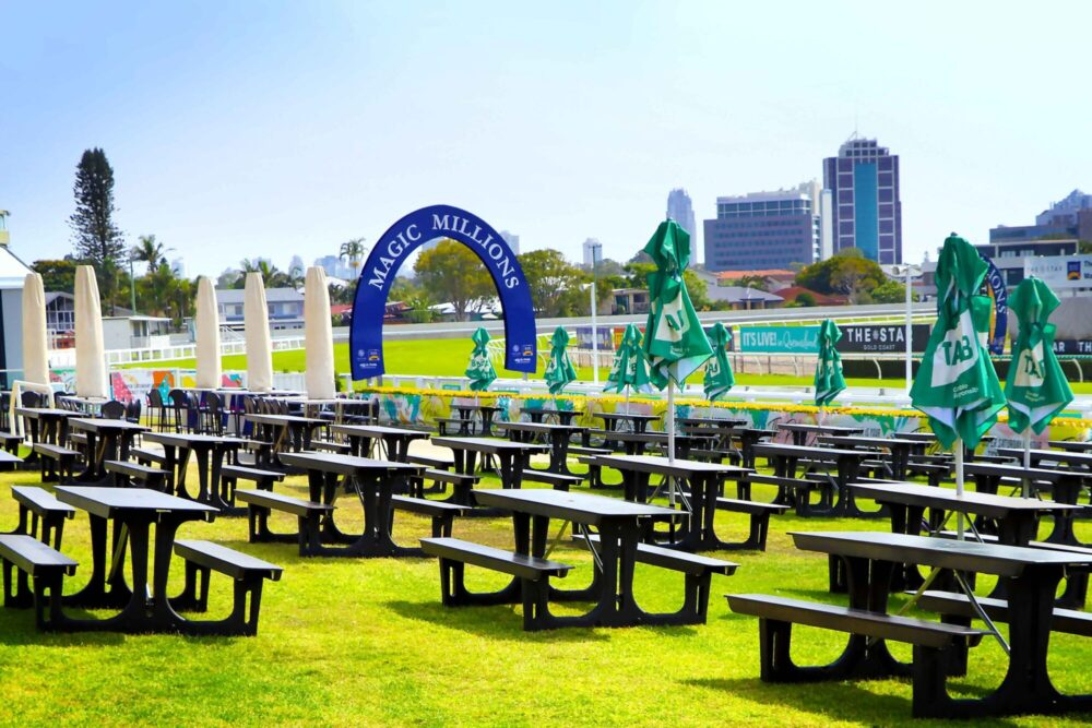 TFH Event Seating at Magic Millions