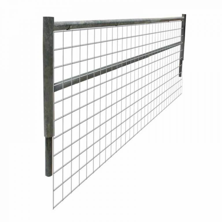 temporary fencing extension panels