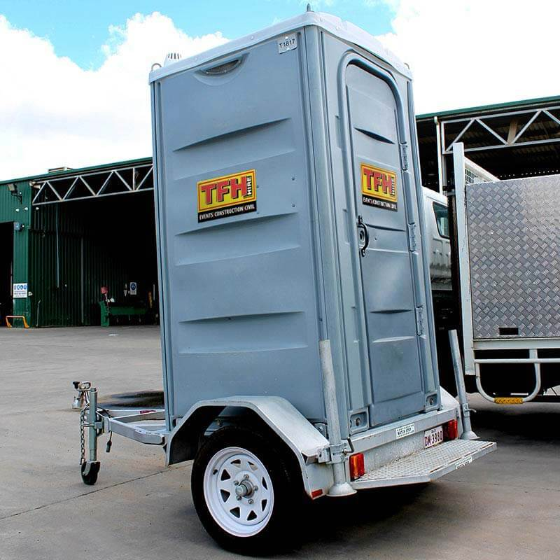Portable Toilet Trailer