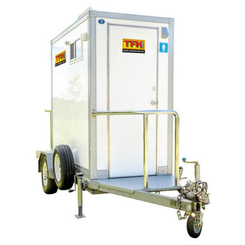 premium portable toilet trailers