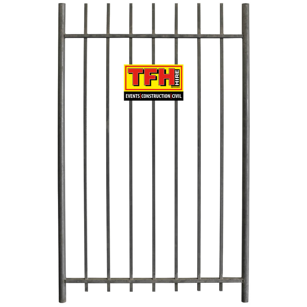 temporary fence gate hire