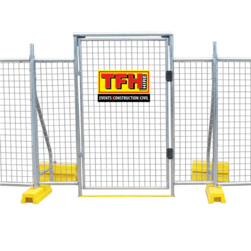 self closing gate hire