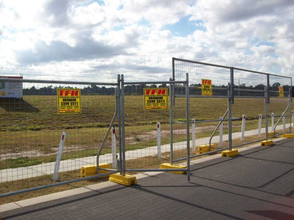 Temporary Personnel Gate – Mesh