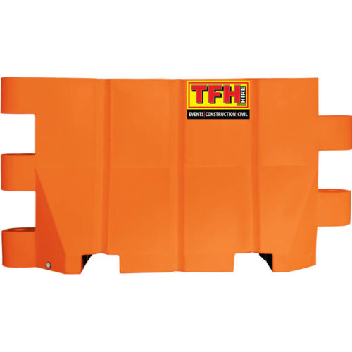 water barrier hire