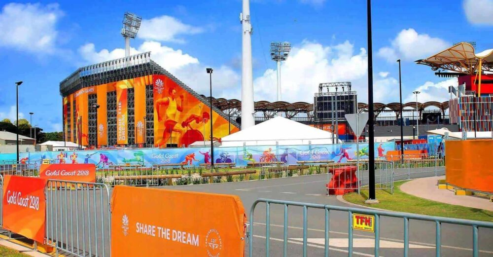 Crowd Control Barriers Commonwealth games 2018